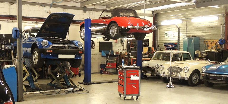 Classic automobiles garage sp cialiste de votre austin for Garage matre toulouse