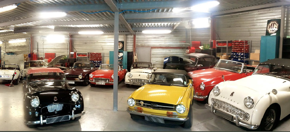 Classic automobiles garage sp cialiste de votre austin for Garage auto france