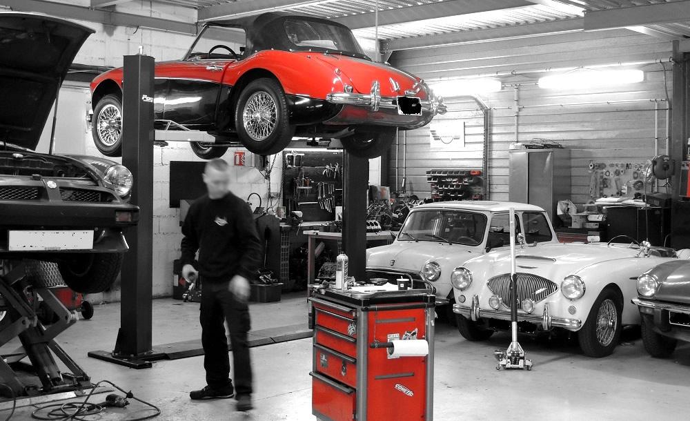 Restauration mini austin ainsi que de votre voiture for Garage pelras mini toulouse