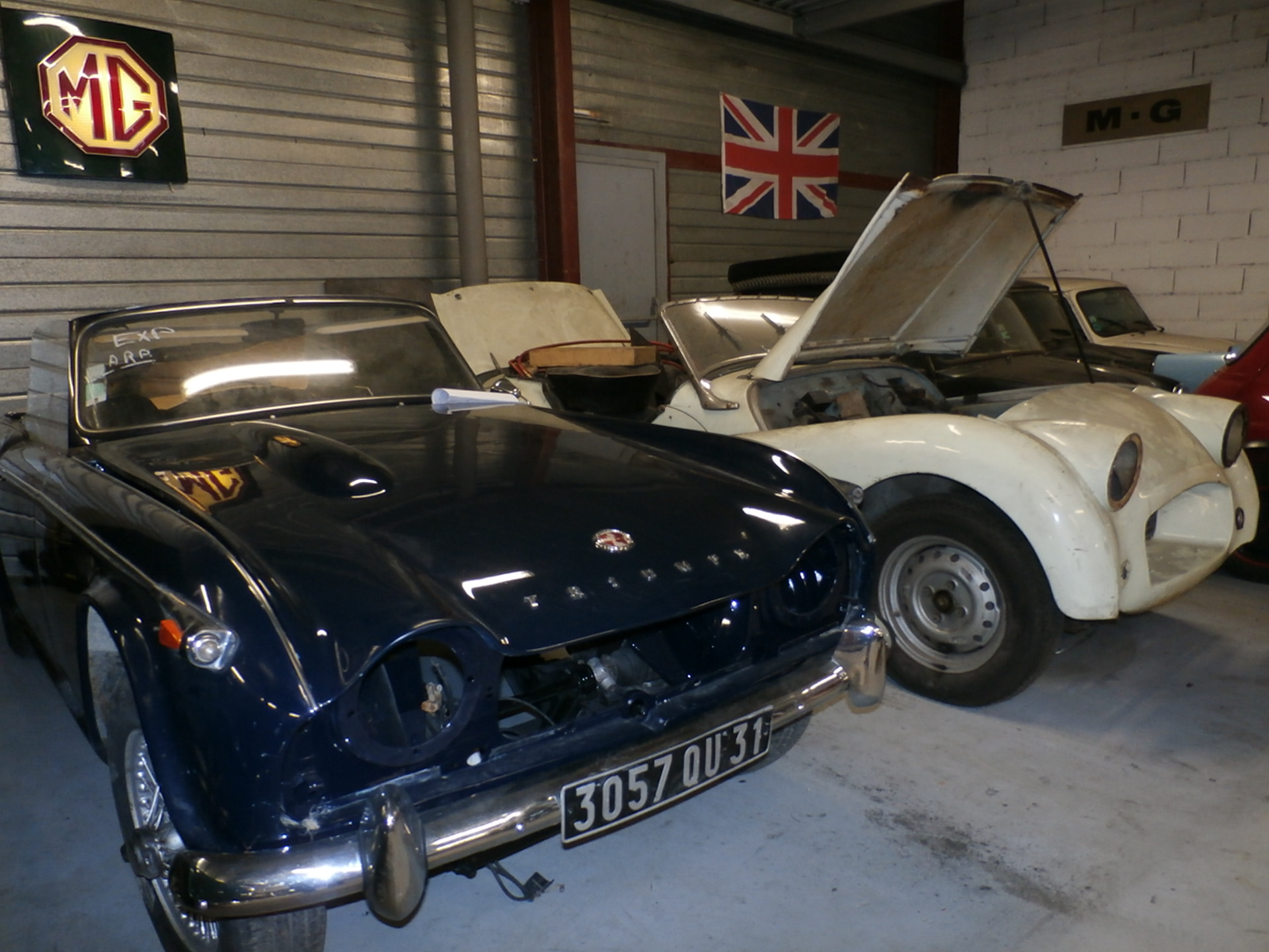 Restauration voiture anglaise classic automobiles - Garage restauration voiture ...
